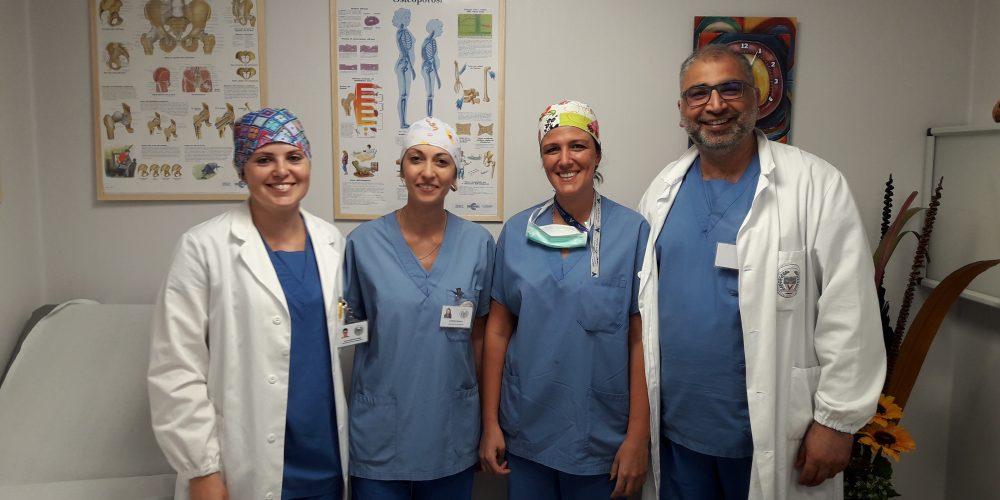 Terapia del dolore a Villa Letizia: valore umano e scienza con l'equipe del Dr. Alì Younes